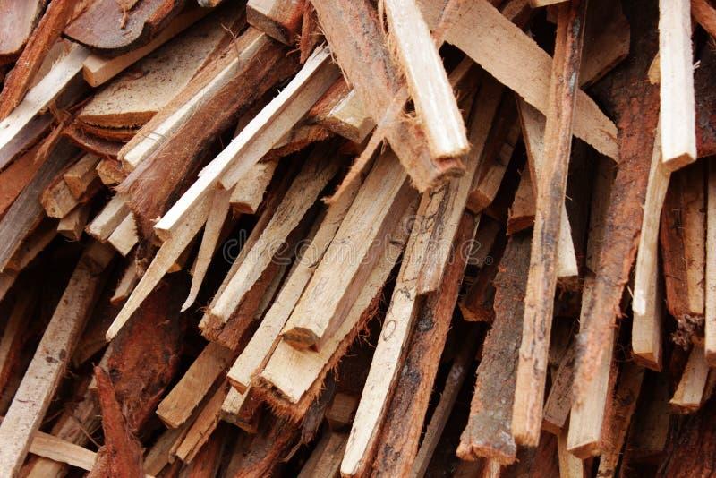 szczerbi się drewno zdjęcia stock