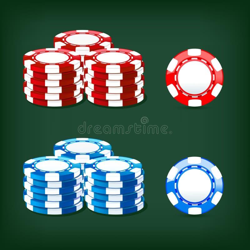 Szczerbi się kasyno ilustracji