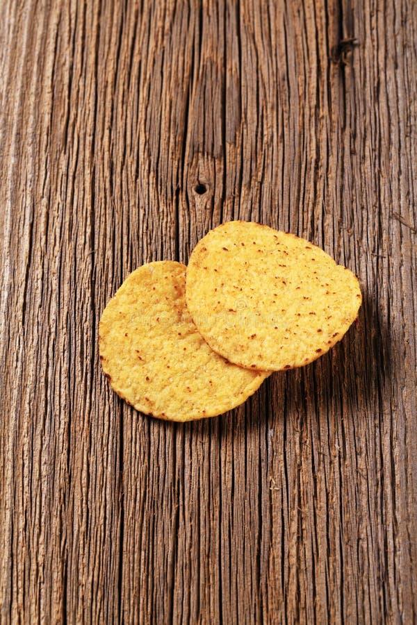 szczerbi się tortilla zdjęcia stock