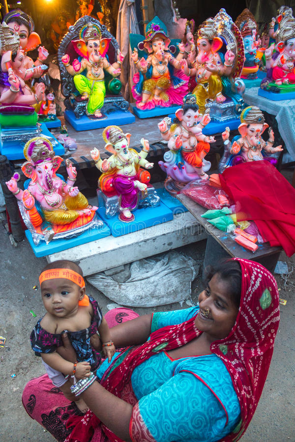 Szczery Ganesha fotografia stock
