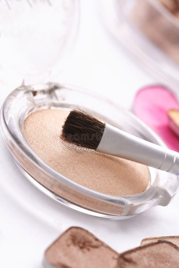 szczotkarscy kosmetyki zdjęcie stock