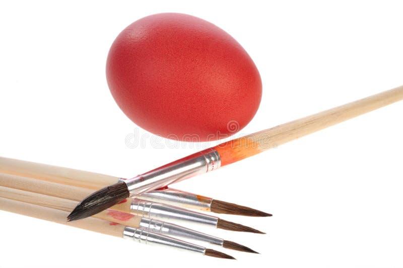 Download Szczotkarska Jajeczna Czerwień Obraz Stock - Obraz złożonej z chrześcijaństwo, sezonowy: 13334255