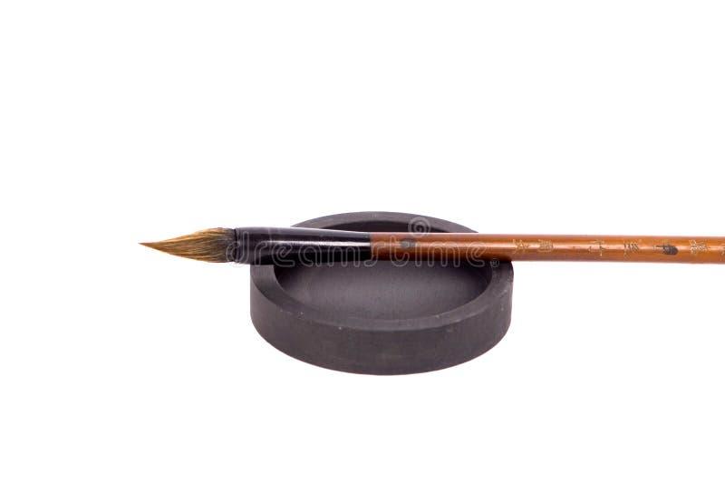 szczotkarski chińczyk obraz stock