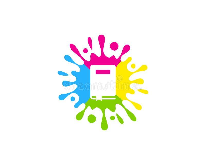 Szczotkarski Książkowy logo ikony projekt ilustracji