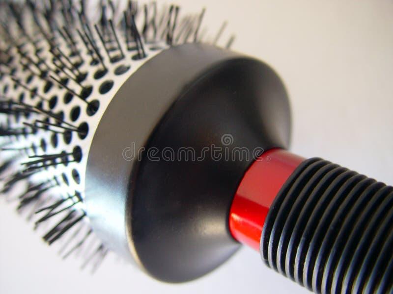 Szczotkarski Włosy Zdjęcie Stock