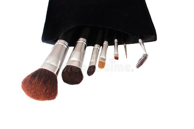 szczotkuje makeup zdjęcie stock