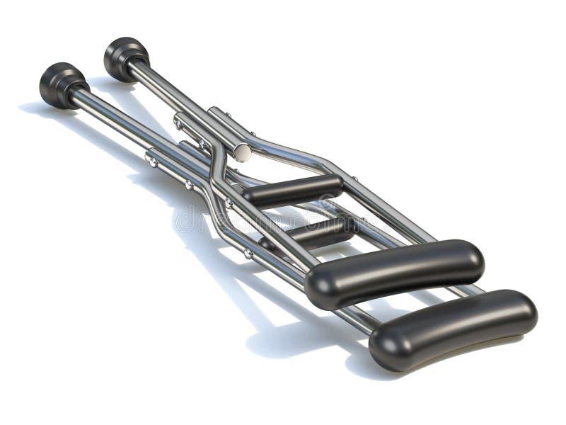 Szczudła 3D ilustracji