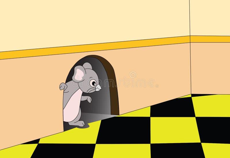 Szczur ilustracja wektor