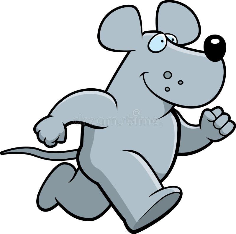 szczura bieg ilustracja wektor