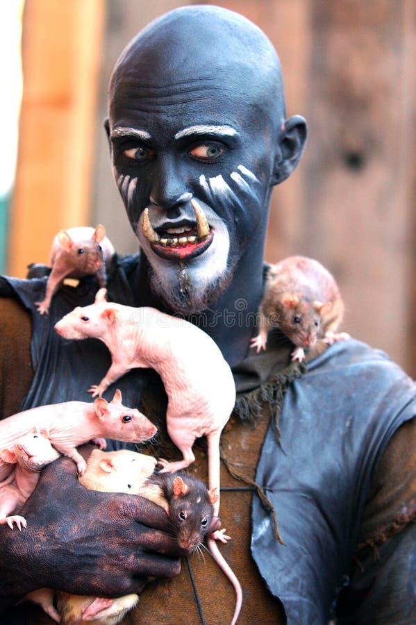 Download Szczurzy trol niańką obraz stock. Obraz złożonej z ślepuszonka - 128319