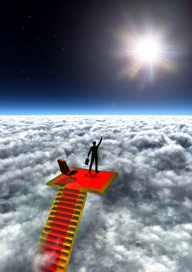 szczyt świata ilustracja wektor