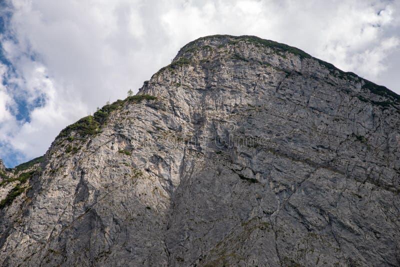Szczyt w Karwendel górach zdjęcie royalty free