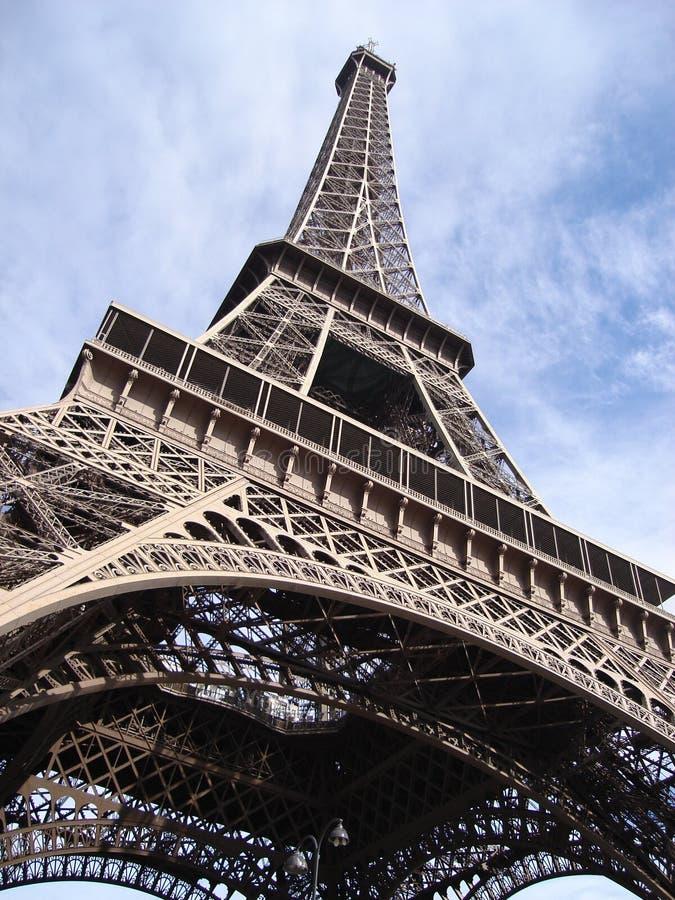 szczyt wieży eiffel fotografia royalty free