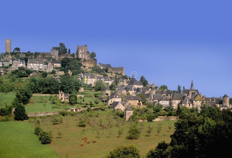 Szczyt wioski