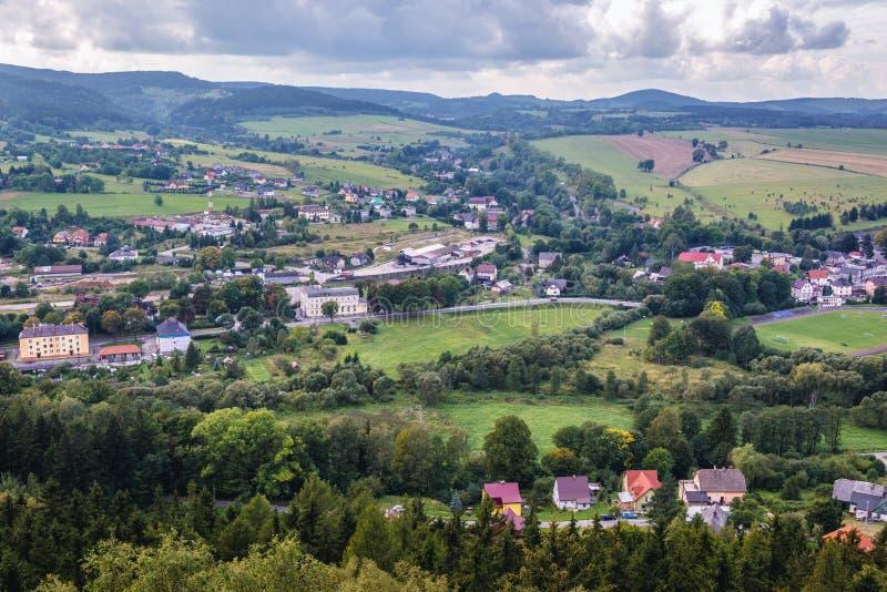 Szczytna в Польше стоковая фотография rf