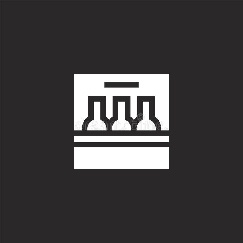 sześć paczek ikon Wypełniający sześć paczek ikon dla strona internetowa projekta i wiszącej ozdoby, app rozwój sześć paczek ikon  royalty ilustracja