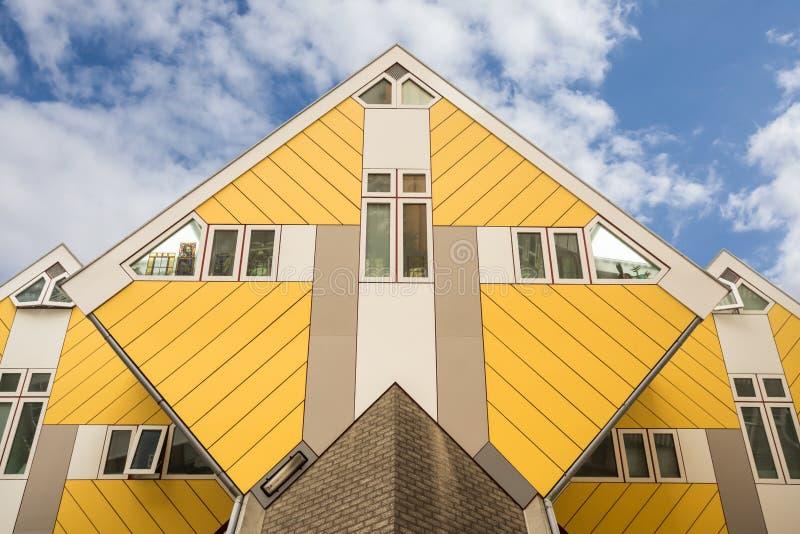 Sześcianów domy zdjęcia stock