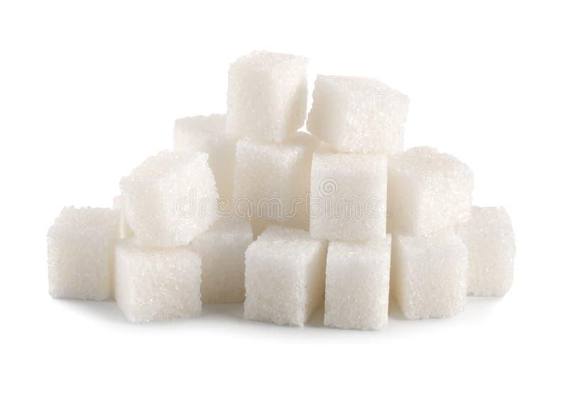 sześcian odizolowywający cukier obraz royalty free