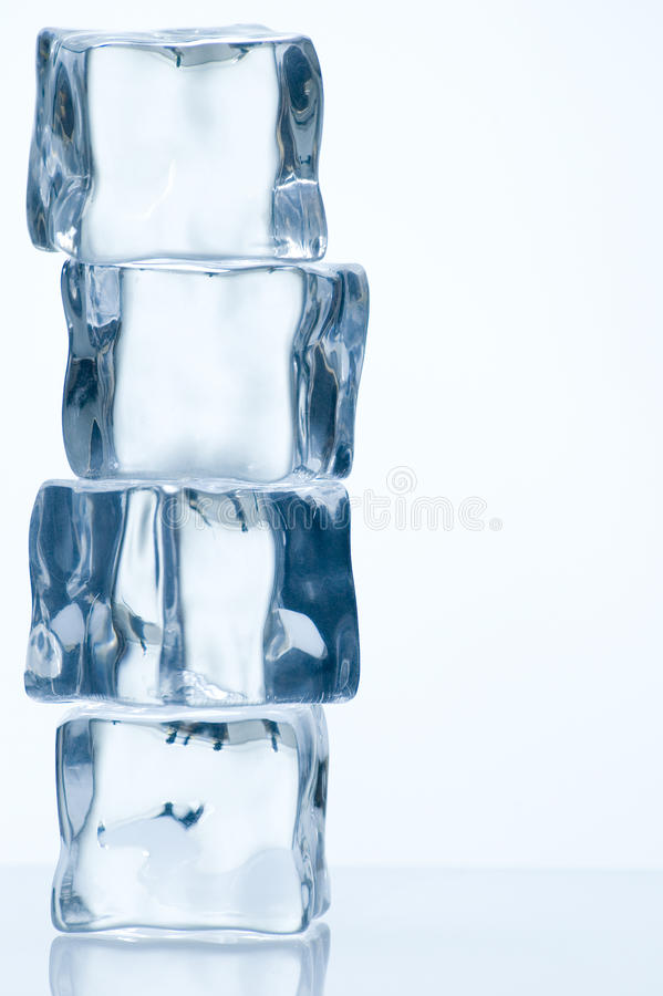 sześcianu lód obrazy royalty free