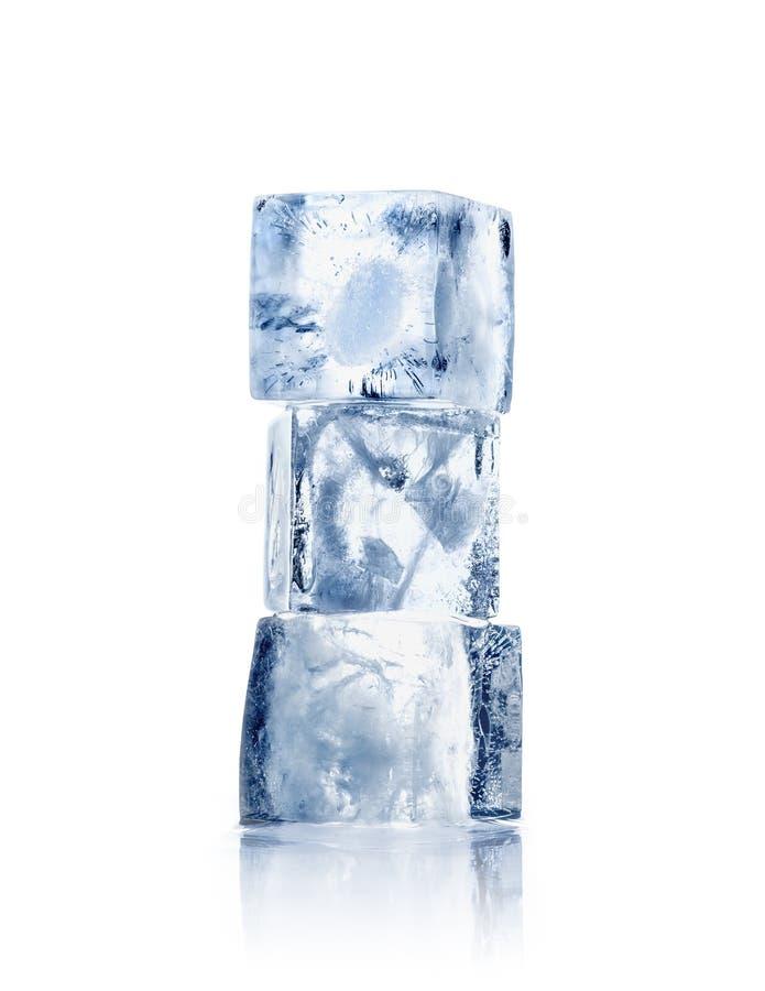 sześcianu lód trzy obrazy stock