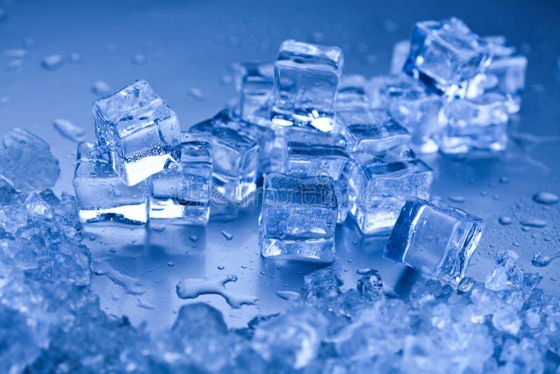 Sześciany lodu, zimnego i świeżego pojęcie, obraz royalty free