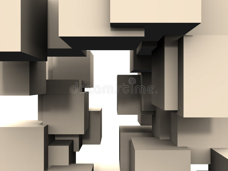 Download Sześcian Do Abstrakcyjne Obrazy Stock - Obraz: 4633374