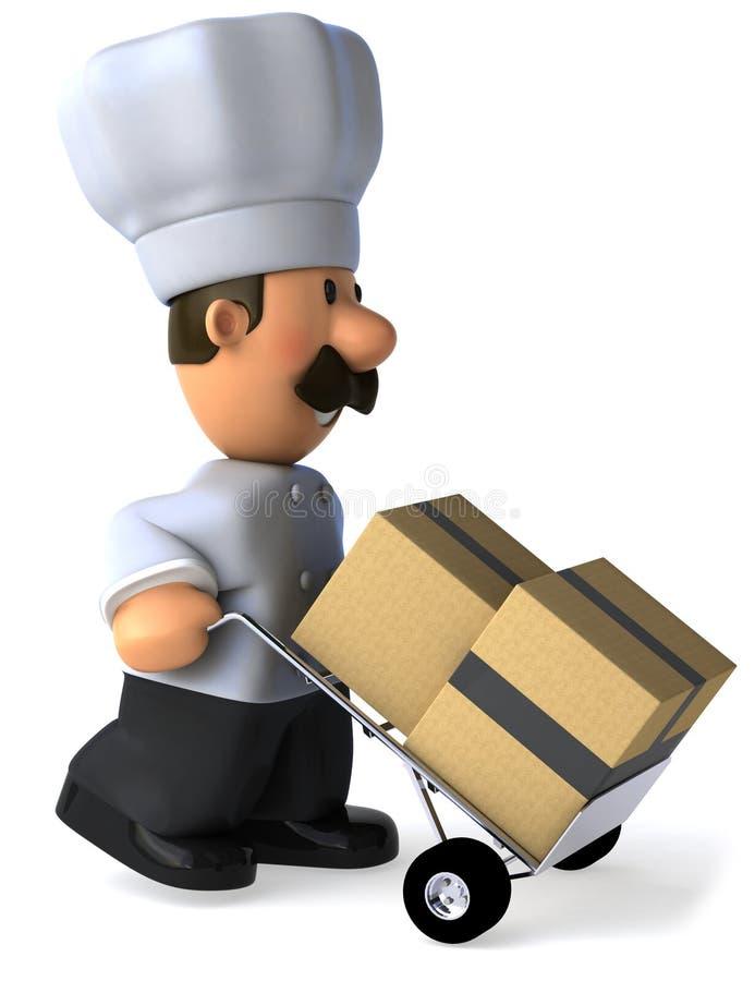 Download Szef kuchni ilustracji. Ilustracja złożonej z smakosz - 13325312