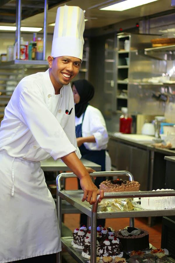 szef kuchni ciasta zdjęcie royalty free