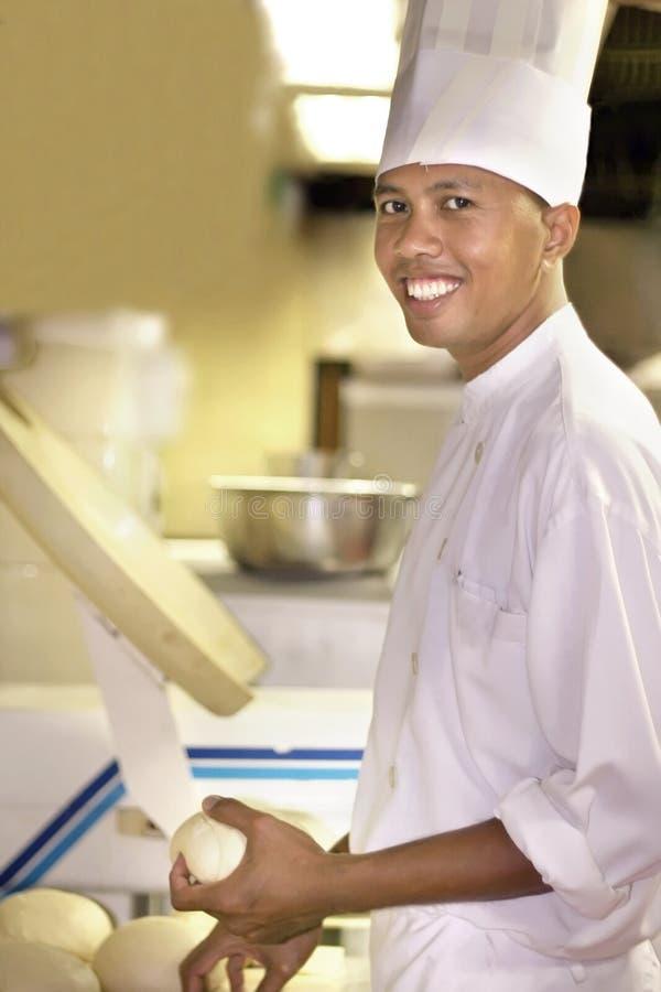 szef kuchni ciasta fotografia royalty free