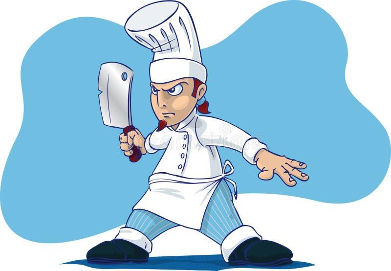 szef kuchni dolców royalty ilustracja