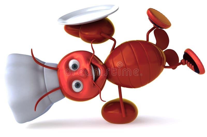 szef kuchni homar ilustracji