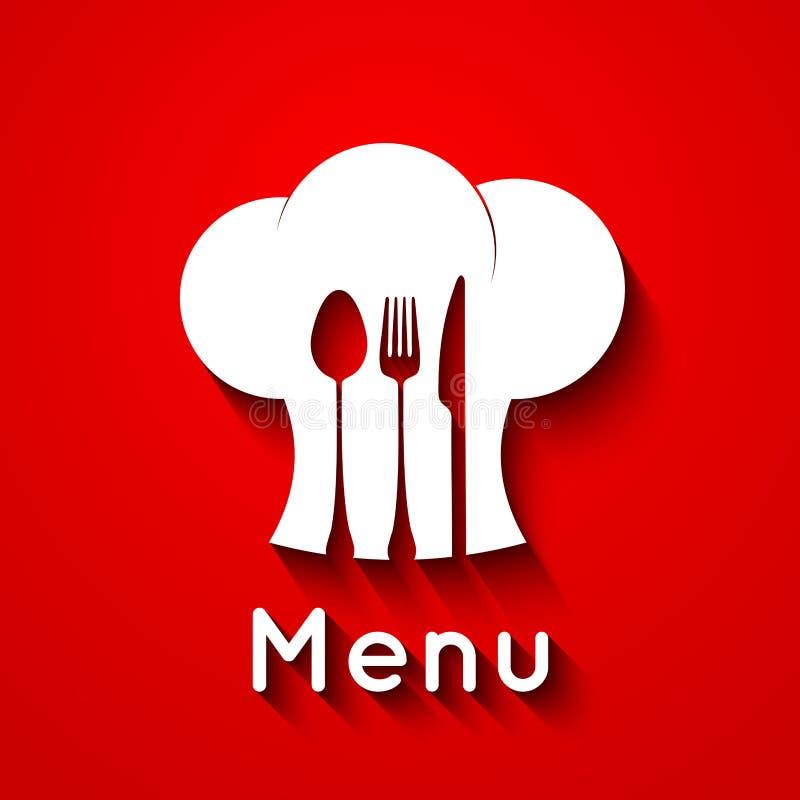 Szef kuchni ikony projekt ilustracja wektor