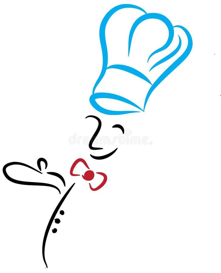 szef kuchni ja target799_0_ obrazy royalty free