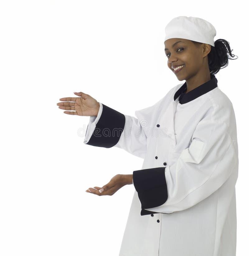 szef kuchni kobiety kobieta obraz stock