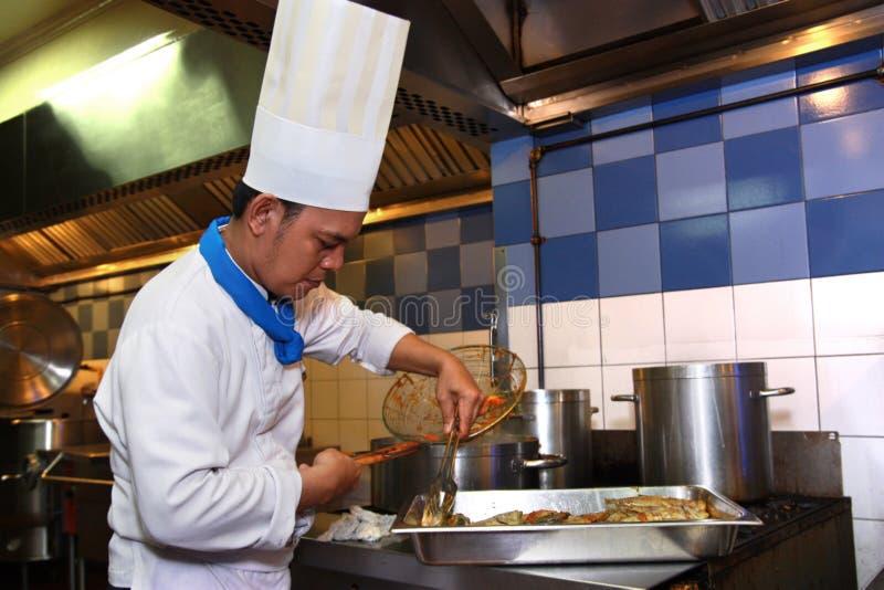 szef kuchni kucharstwo zdjęcie royalty free