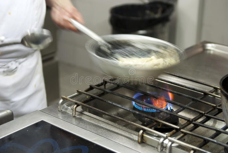 szef kuchni kucharstwo obraz stock