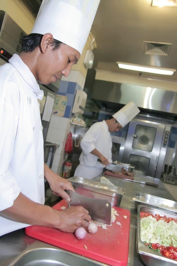 szef kuchni kucharstwo fotografia stock