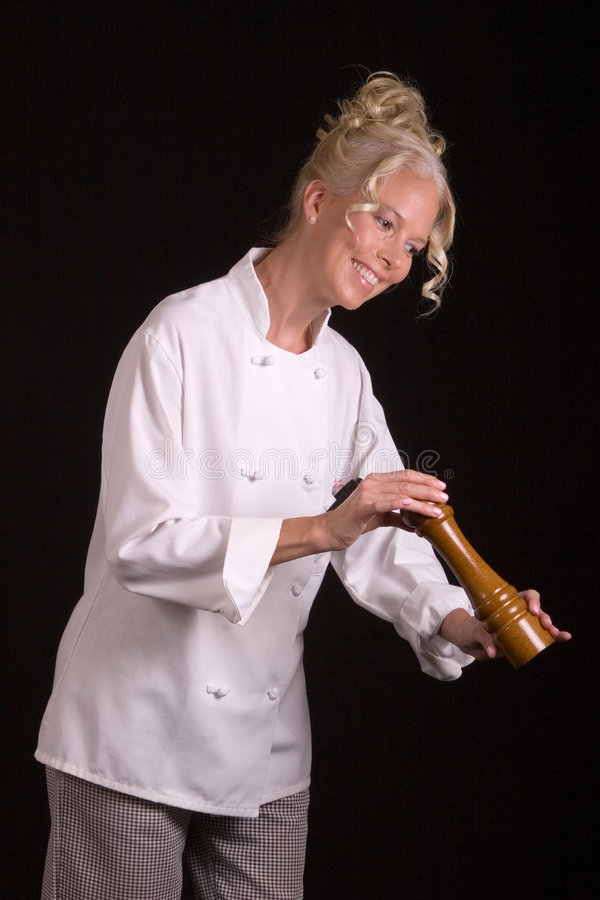szef kuchni młyna pepper obrazy stock