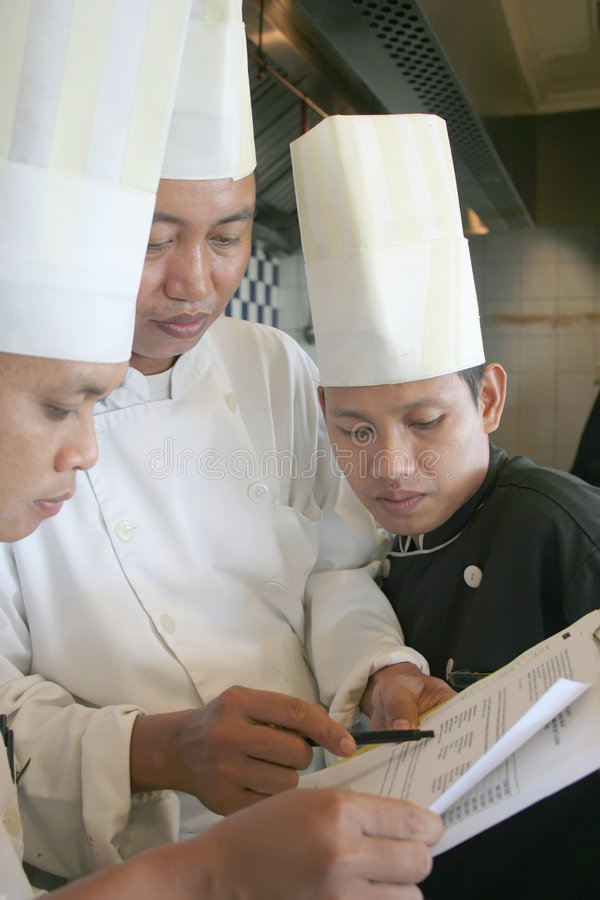 szef kuchni się fotografia royalty free