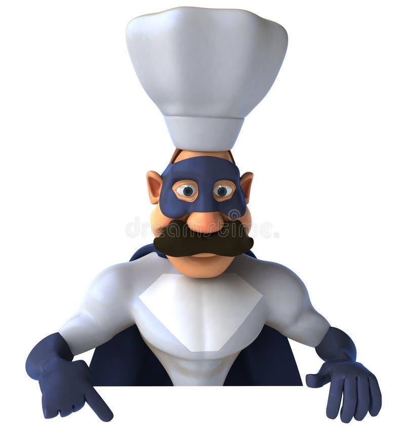 szef kuchni super royalty ilustracja