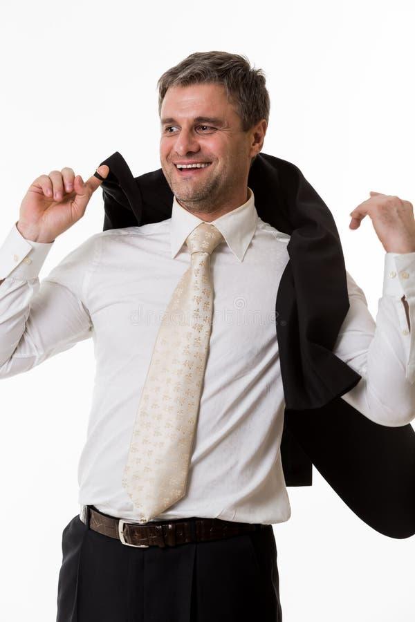 Download Szef szczęśliwy obraz stock. Obraz złożonej z osiągnięcie - 53786175