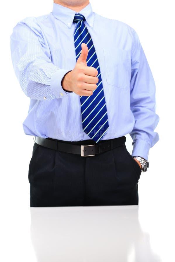 szefa gratulowanie praca dobra praca zdjęcia stock