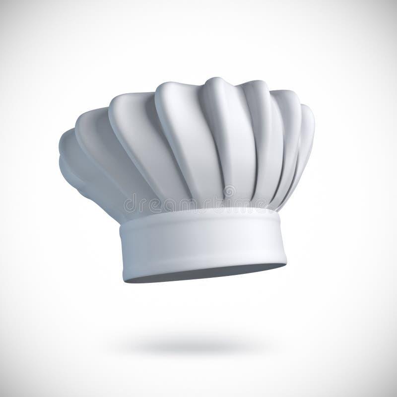 Szefa kuchni kapelusz ilustracja wektor