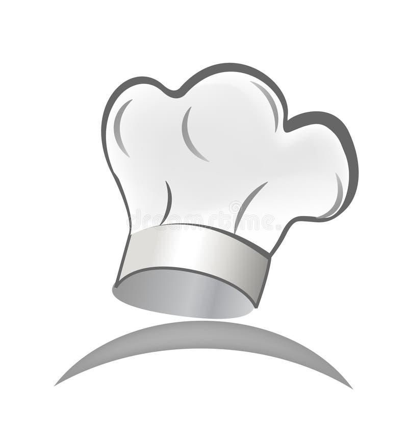 Szefa kuchni kapelusz royalty ilustracja