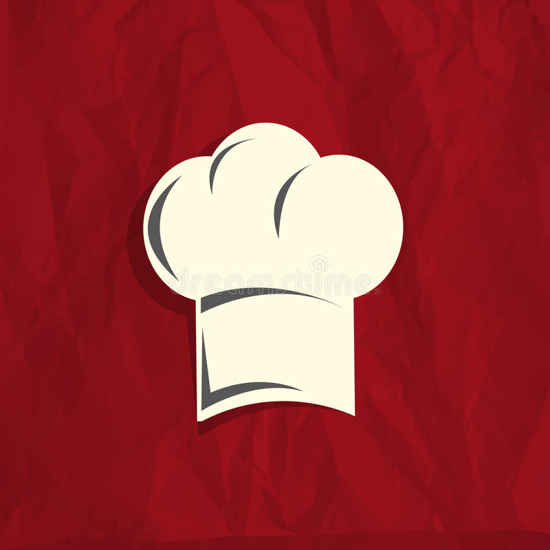 Szefa kuchni kapelusz ilustracji