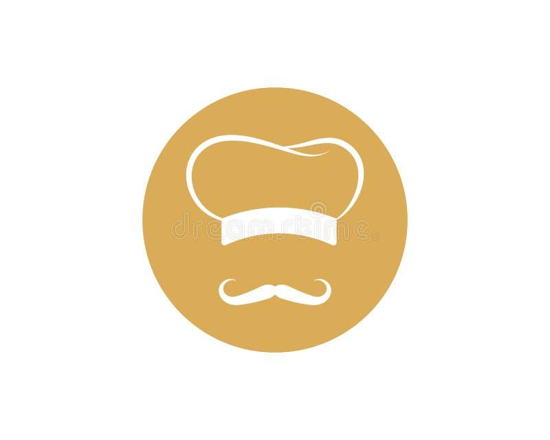 Szefa kuchni logo szablonu wektoru ikona ilustracji