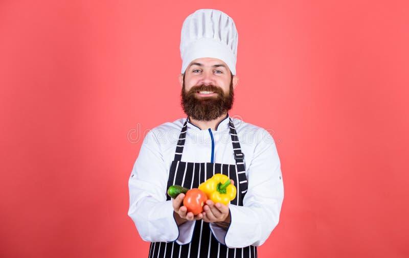 Szefa kuchni mężczyzna w kapeluszu Tajny smaku przepis Brodaty mężczyzny kucharz w kuchni, kulinarnej jarosz Dojrzały szef kuchni obrazy royalty free