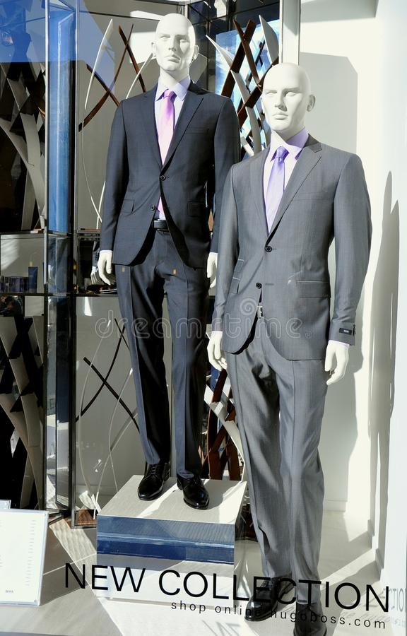 szefa mody Hugo Italy sklep fotografia royalty free