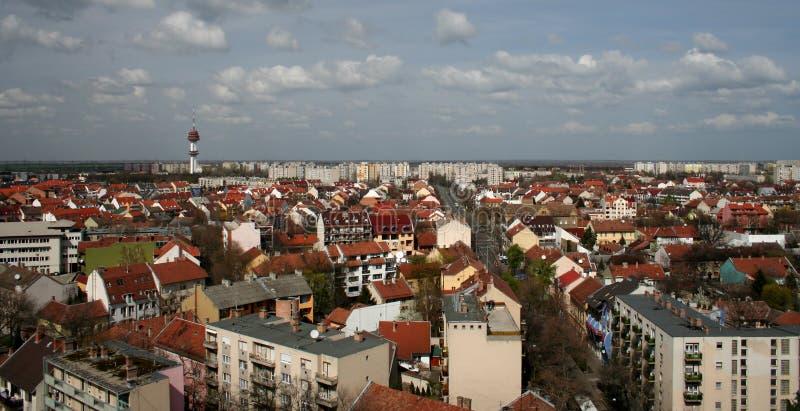 Szeged (cidade da luz do sol) fotos de stock royalty free