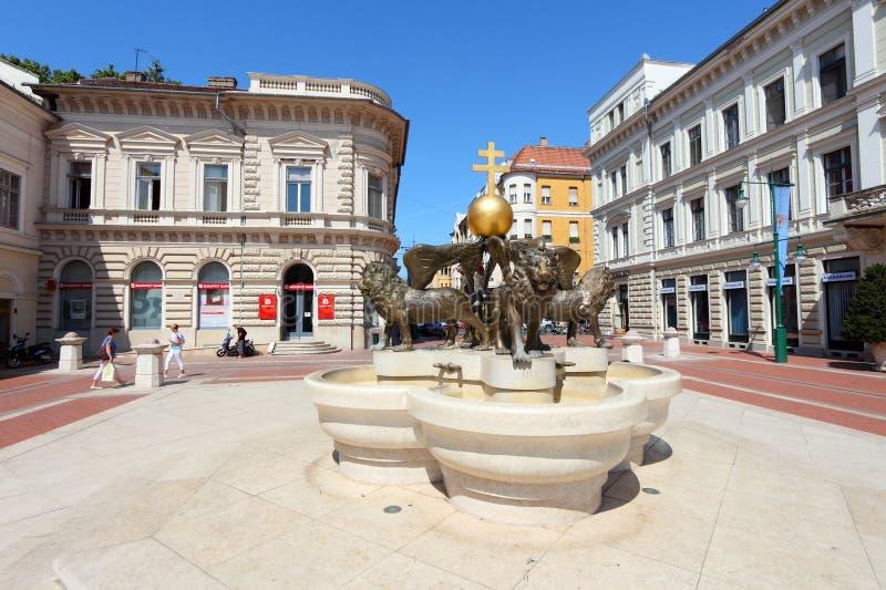 Szeged, Hungría foto de archivo libre de regalías
